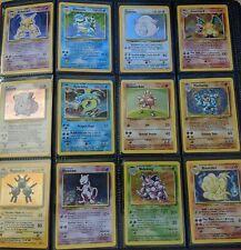 Pokemon 10 Card Lot - Vintage WOTC Sets 1st Edition, Rare, Holo Rare, FAST!!