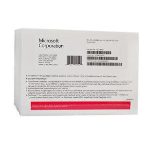 Microsoft Windows 10 Pro (64-bit, OEM DVD) with Product key