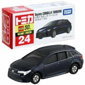 Takara Tomy Tomica No.24 Toyota Corolla Touring 1/63 Mini Diecast Toy Car