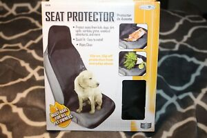 Pet Kids Front Seat Protector Cover Dog Car Seat Cover Quick Fit Wipes Clean