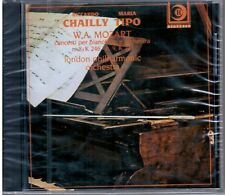 MOZART concerti piano orchestra n. 20 k466 n.21 k467 CHAILLY-TIPO CD NEW SEALED