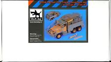 Blackdog Models 1/35 M35A2 BRUSH FIRE TRUCK Resin Conversion Kit