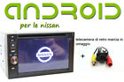 Autoradio 2 din android 5.1 quadcore Nissan quashqai, Juke, micra USB, Bluetooth