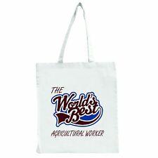 I mondi migliori LAVORATORE AGRICOLO-Grande Tote Shopping Bag
