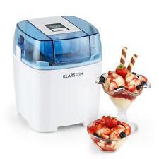 Klarstein Creamberry Gelatiera Yogurt Gelato Contenitore Termico 1,5L Bianca Bio
