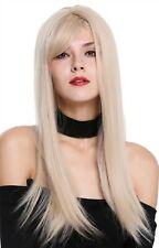 Perruque pour Femme Longue Lisse Raie Raie Fauve Blond Clair DM-03