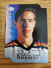 1995-96 Be A Player Autographs Die Cut #S10 Brad Dalgarno