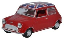 OXFORD 43MIN023 - 1/43 AUSTIN MINI TARTAN RED/UNION JACK