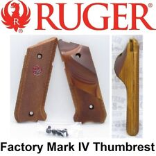Factory RUGER Mark 4 THUMB REST Cocobolo Wood Grips Competition MK4 MK IV MKIV