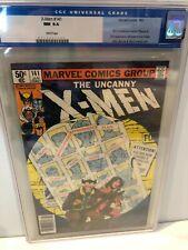 UNCANNY X-MEN #141 CGC 9.4 WP NEWSStand LOT +7 H. Issues 1st App. Rachel S. KEY