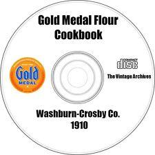 Washburn-Crosby Co. Gold Medal Flour Cookbook 1910 on CD