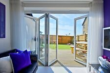 BRAND NEW MADE TO ORDER White uPVC 3part Bi-Fold door