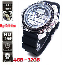 32 GB DVR Spy Watch High Definition 720P Hidden Video Camera Recorder Camcorder
