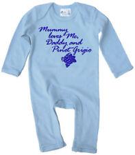 Peleles y bodies azul de bebé para niñas de 0 a 24 meses