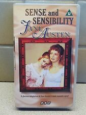 SENSE AND SENSIBILITY JANE AUSTEN VIDEO TAPE VHS - BBC 1990 VERSION