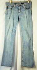 Adriano Goldschmied Women's Blue Denim Jeans Size 28 Regular Flare