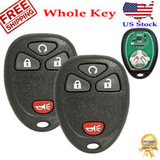 2 Car Remote Key Fob for 2007 2008 2009 2010 2011 2012 2013 Gmc Sierra 1500 2500