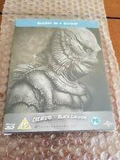 CREATURE FROM THE BLACK LAGOON STEELBOOK [NEW/Blu-ray 3D+2D] UK Import