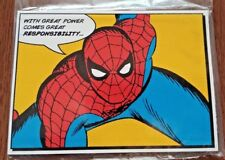 Marvel'S Spider-Man Collector'S Edition Bonus Pre-Order Postcards Ps4 New Sealed