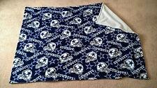 "Handmade NFL Dallas Cowboys Fleece Baby Blanket Throw 57"" x 41"""