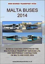 Malta Buses 2014, Operated By Malta Public Transport Ltd & Independents DVD