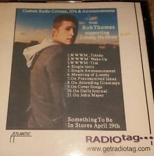 ROB THOMAS LONELY NO MORE PROMO CD star 105 wwwm toledo RADIO ID & ANNOUNCEMENTS