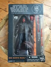 "Star Wars Black Series - 6"" DARTH MAUL Action Figure (New & Unopened) - Hasbro"