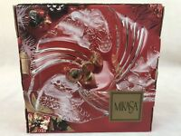 "Mikasa Christmas Medley Bon Bon Playe 9"" SA 234/220 Original Box Candy Dish"