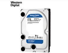 WD HDD 2TB 3.5'' SATA III 6.0Gb/s Hard Disk Drive 5400rpm 256MB Blue WD20EZAZ