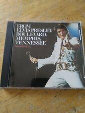 Elvis Presley Live From Elvis Presley Boulevard Memphis Tennessee CD / RARE !