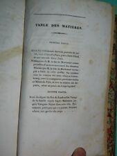Mémoires sur la Révolution de 1830, 1832, notes manuscrites de Mlle Vachon