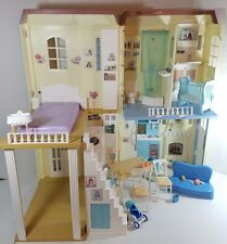 Barbie Happy Family Sounds Like Home Smart House w/ Furniture & Access Light-Up