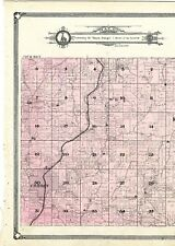 1908 Map Anna township, Illinois, from Atlas of Union County w/family names-rare
