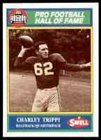 1990 Hall of Fame Green #58 Charley Trippi RARE Chicago Cardinals / Georgia Dogs