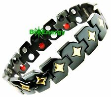 Magnet Germanium Armband Energy Power Bracelet Health wristband Titanium 4in1