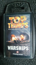 Top trumps Trading card game Warships Winning Moves 2002 A*