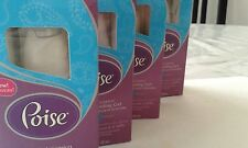 Lot of 4 Poise Roll-On Cooling Gel Hot Flash Comfort 1.2Oz original boxes no-tax