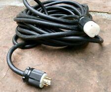 25 Foot 30 Amp 250 Volt Generator Extension Cord 10 Ga 25 Cable L14 30p Power