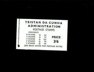 Tristan da Cunha Booklet SG#B3. Cat.30.00 Pounds. Better Item