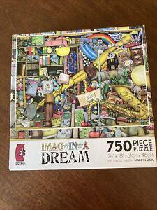Imag*In*A*Dream ~ 750 Piece Jigsaw Puzzle Ceaco Series 2 ~ NIB ~ FREE SHIPPING!