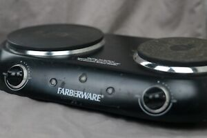 Farberware Double Burner Stovetop