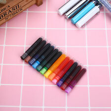 Fountain Pen Ink Refills Portable Replacement 12 Color Drawing Pen Accessories