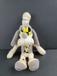 "Disney Goofy 11"" Bean Bag Plush Crash Test Dummy Test Track Epcot Rare NEW"