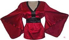 Très belle tunique Kimono Japon Rouge et Noir chinois taille 40 - 48