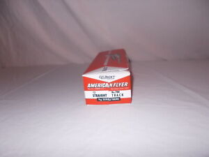 AMERICAN FLYER 700 STRAIGHT TRACK REPRODUCTION BOX ONLY NO TRACK 1956-1959