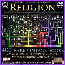 Religion Occult Books Faith Christianity Judaism Islam Buddhism Hindu Wicca