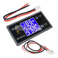 DC 50V 5A 250W Voltmeter Ammeter Digital LCD Voltage Current Volt Power Meter AU
