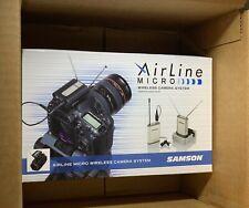 Samson SWAM2SLM10-N1 Airline Micro Camera System Wireless Microphone - New