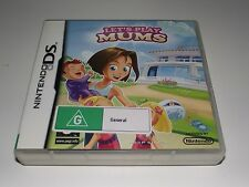 Let's Play Mums Nintendo DS 2DS 3DS Game *Complete*
