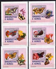 Mozambique 2007  - Butterflies - soft 6 perf. DeLuxes  - MNH** Alb.3 -18